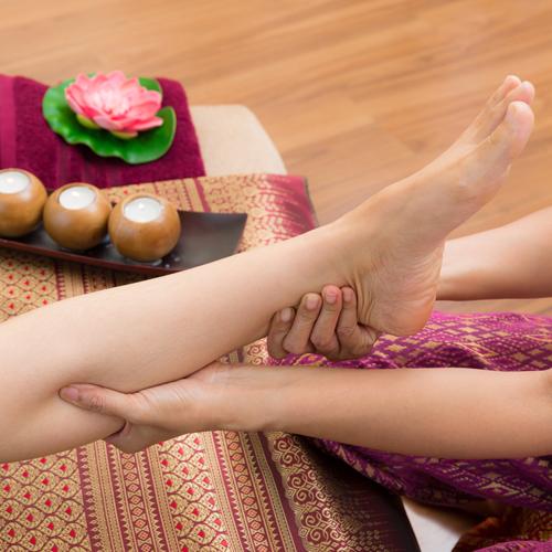 Extend Leg and Foot Massage